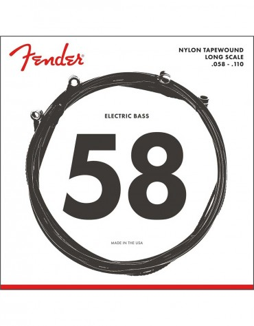 Fender 9120 Nylon Tapewound Bass Strings (.058-.110)