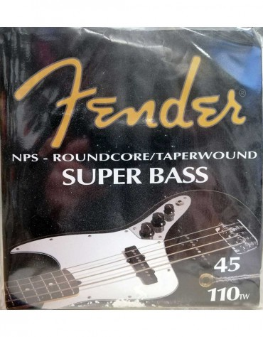 Fender Super 8250M, Bass Guitar Strings (.045-.110)