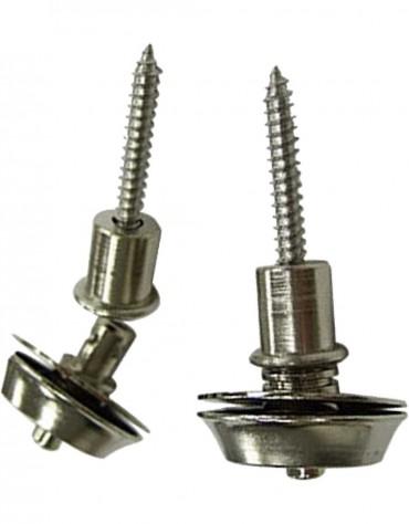 Dunlop SLS1401N Straplok Dual-Design Nickel Strap Lock System