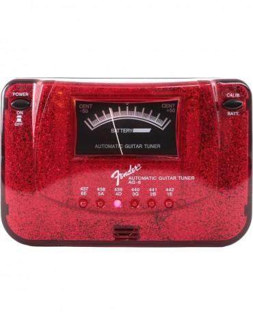 Fender AG-6 Sparkle Tone Tuner, Red