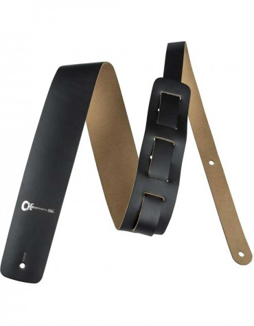 Charvel Leather Strap, Black