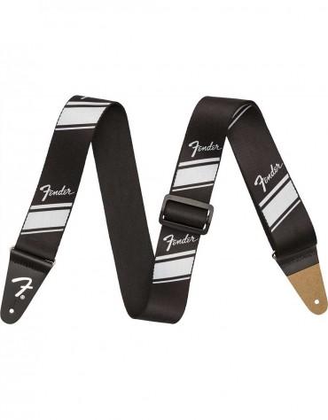 Fender® Nylon Competition Stripe Strap, Silver