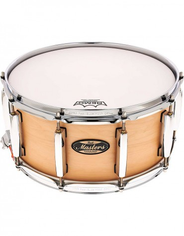Pearl MMG1465S/C186 Masters Maple Gum 14 x 6.5 inch Snare Drum, Hand Rubbed Natural Maple