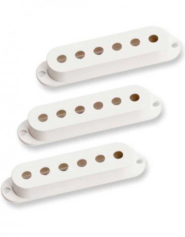 Fender Pickup Covers, Stratocaster® Parchment (3)