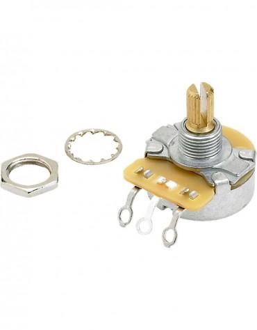 Fender Pure Vintage 250K Split Shaft Potentiometer with Mounting Hardware