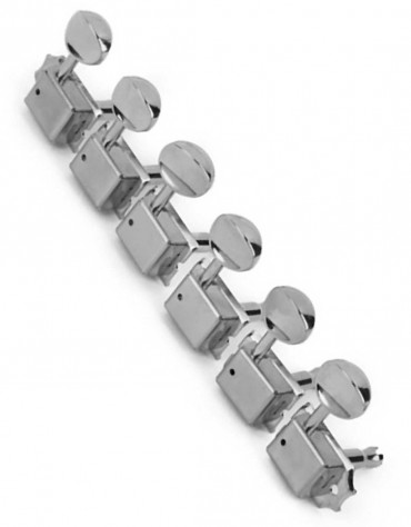 Fender Vintage-Style Strat®/Tele® Tuners, Chrome (6)