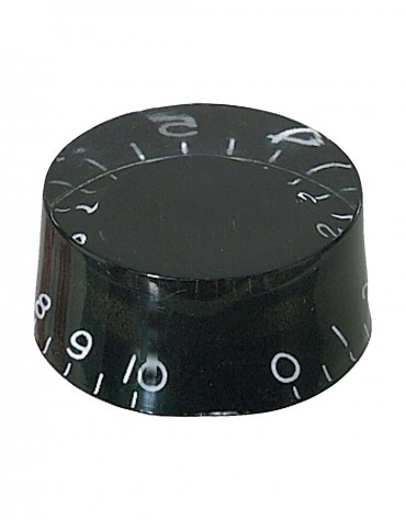 Gewa 556.000, Partsland Knob For Potentiometer, Black Colour
