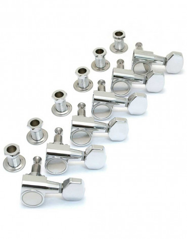 Squier Standard Series Import Strat Tele Chrome Tuners