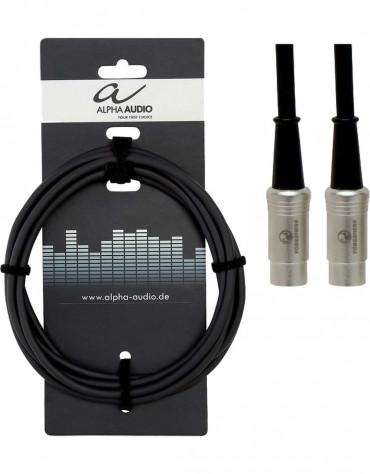 Alpha Audio 190.780, 3m Pro Line Midi Cable