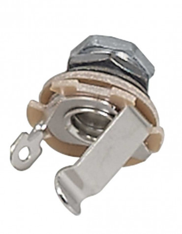 Gewa 943.170, Partsland Output Socket, Chrome Plated