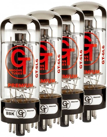 Groove Tubes GT-6L6-CHP Quartets (Rated 1-10)