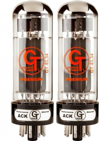 Groove Tubes GT-EL34-M Duets (Rated 1-10)