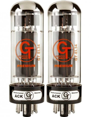Groove Tubes GT-EL34-R Medium Duets