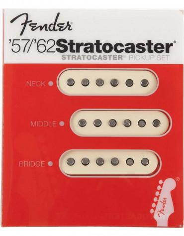 Fender Original '57/'62 Strat Pickups, (3)