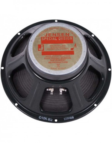 "Jensen C12K 100W 12"" 8 OHM Replacement Speaker"