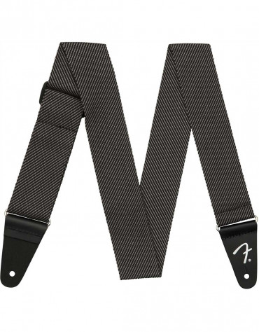 "Fender 2"" Modern Tweed Strap, Gray and Black"