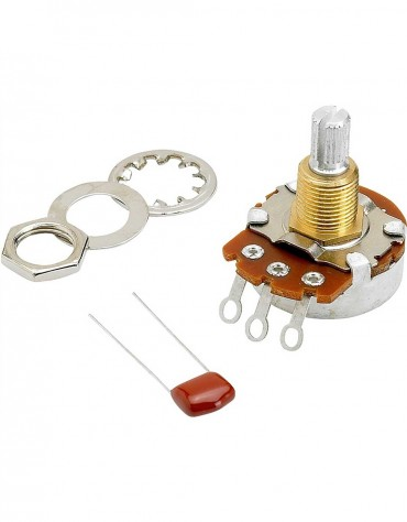 Fender 500K Split Shaft Potentiometer (Volume or Tone)
