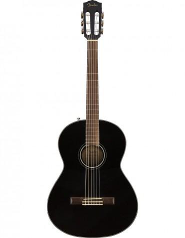 Fender CN-60S, Rosewood Fingerboard, Black