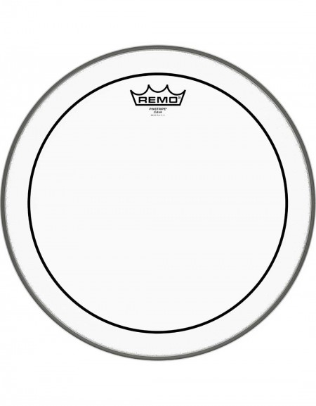 """Remo 14"""" Pinstripe Clear Drum Head - PS-0314-00"""