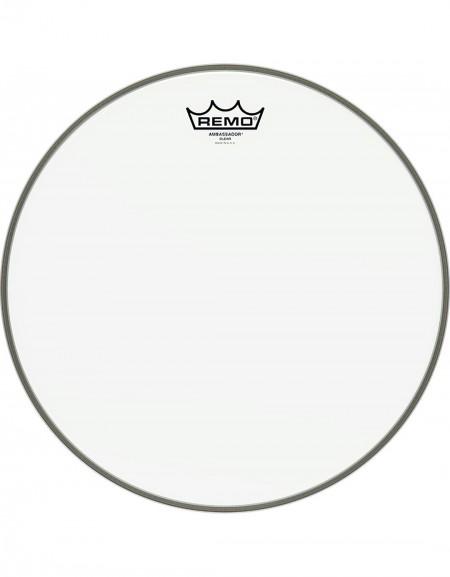 "Remo 18"" Ambassador Clear Bass Drum Head - BR-1318-00"
