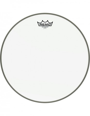 "Remo 20"" Ambassador Clear Bass Drum Head - BR-1320-00"