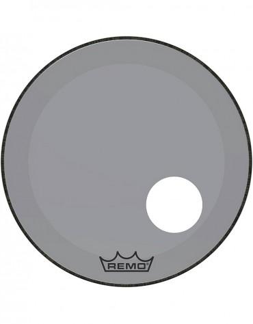 "Remo 20"" COLORTONE POWERSTROKE 3 CLEAR SMOKE BASSDRUMHEAD - P3-1320-CT-SMOH, 5"" HOLE"