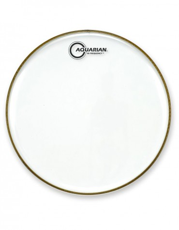 """Aquarian HF12, 12"""" Hi-Frequency Clear Series, 7 mil Single Ply, Thin Weight Head"""