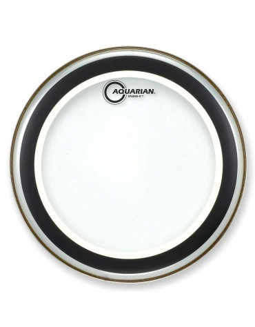 """Aquarian SX13, 13"""" Studio-X Series, Clear Drum Head With Light Weight Muffle Ring"""