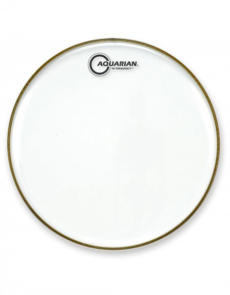 """Aquarian HF14, 14"""" Hi-Frequency Clear Series, 7 mil Single Ply, Thin Weight Head"""