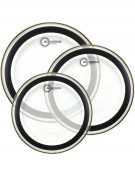 """Aquarian SX14, 14"""" Studio-X Series, Clear Drum Head With Light Weight Muffle Ring"""