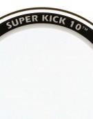 "Aquarian SK10-22, 22"" Super-Kick 10 Clear Double Ply Bass Drum Head"